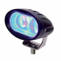 DURITE <BR>Blue 2 LED Spot Lamp - 10-60V<br>ALT/0-420-75
